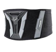 """07038 Fox Kidney Belt Turbo XL Waist 34"""" to 44""""  Black and Grey"""