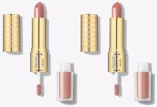 Tarte 2 Lip Sculptor Lipstick & Lipgloss Shade Life Peach Nude $48 NEW No Box