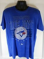 Bulletin size L Toronto Blue Jays MLB AL Vintage-Style Blue Short Sleeve T-Shirt
