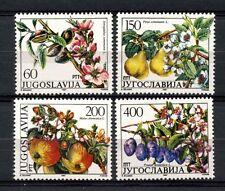 Yugoslavia 1987 SG#2382-5 Fruit, Trees MNH Set #A33148