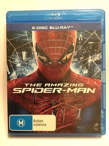 THE AMAZING SPIDER-MAN BLU RAY - 2 DISC Version