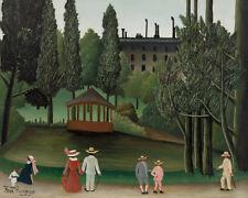 View of Montsouris Park by Henri Rousseau 60cm x 48cm Art Paper Print