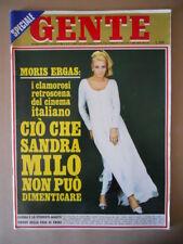 GENTE n°27 1968 Sandra Milo Moris Ergas - Franco Franchi Ciccio Ingrassia [G776]