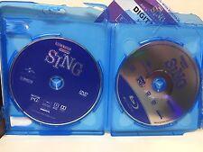 SING (BLU-RAY+DVD+DIGITAL HD) SPECIAL EDITION 3 MINI MOVIES  NEW!