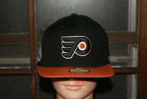 Reebok NHL Philadelphia Flyers Hat Cap  Black Stanley 2012 Winter Classic