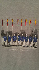 Vintage Old Navy Clothing Canoe Boat Sailing Graphic Retro Tee See Sz XL