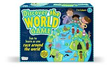 Discover the World Board Game - learn geography as you race around the world