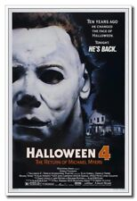 "Halloween 4 The Return Of Michael Myers 12""x8"" Horror Movie Silk Poster Decals"