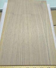 "Walnut wood veneer panel 3/4"" x 8"" x 12"" on MDF board with paper backer"