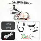 Rcexl Automatic Electric Twin Ignition CDI For NGK BPMR6F 14MM 90Degree + Sensor