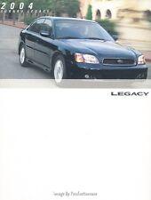 2004 Subaru Legacy and GT 24-page Original Car Sales Brochure Catalog - 35th