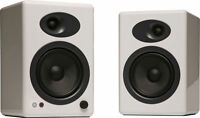 Audioengine A5+ Premium Powered Bookshelf Speakers - White - NEW with Warranty