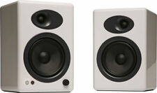NIB Audioengine A5+ Premium Powered Bookshelf Speakers - White with Warranty