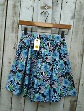 Nil. Cotton Floral Elasticated Waist Skirt / Was Selling At Anthropologie