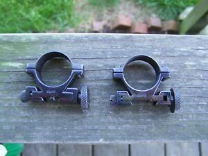 26 mm SAKO Rifle Scope Rings *Medium* Steel Vintage Finland