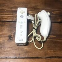 Official White Nintendo Wii Wiimote Controller RVL-003- Tested