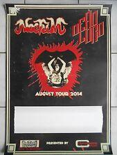 NOCTUM -  DEAD LORD 2014 TOUR orig.Concert-Konzert-Tour-Poster-Plakat  DIN A1 .