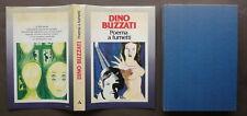 Dino Buzzati Poema a Fumetti Mondadori Milano 1969 Prima Edizione Arte Narrativa
