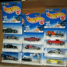 "11 Hot Wheels 1997 ""First Editions"" Cars & Trucks. Some Htf & Rare. Free Ship!"