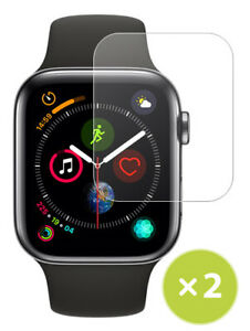 2X TEMPERED 9H GLASS SCREEN PROTECTOR FOR APPLE WATCH (SERIES 4, 40mm)