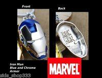 Marvel Comics IRON MAN The Avengers Shield Movie Full metal Key chain cosplay BB