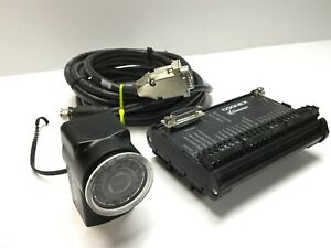 Cognex 825-0028-1R C Checker 252 with I/O Power Break Out Box and Cable