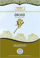 3 boîtes d'encens Goloka Orchidée 15g