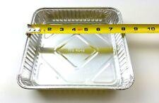"""Handi-Foil 8"""" x 8"""" Square Cake Foil Pan 250/Cs - Disposable Aluminum Containers"""
