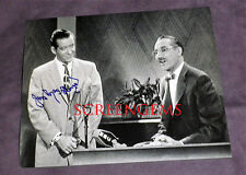 "Jim MacGeorge ""You Bet Your Life"" photo signed Groucho Marx contestant actor TV"