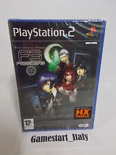 PERSONA 3 SHIN MEGAMI TENSEI - SONY PS2 PLAYSTATION 2 - NEW PAL RARE