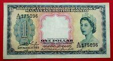 $1 Malaya British Borneo 1953 (Q Elizabeth II )  # 500