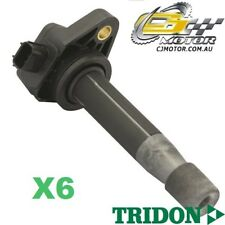 TRIDON IGNITION COIL x6 FOR Honda  Legend KB 01/08-01/09, V6, 3.7L J37A