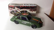 AUTO REEL A FRIZIONE PORSCHE 911S POLIZEI MADE IN ITALY VINTAGE TOYS