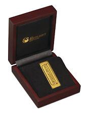 2016 Perth Mint 1 oz Gilt Silver Star Trek Gold-Pressed Latinum Slip SKU41209
