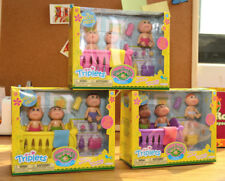2017 Cabbage Patch Kids Minis Triplets PVC Doll PVC Figures Set with Accessories