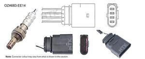 NGK NTK Oxygen Lambda Sensor OZA683-EE14 fits Audi TT 1.8 T Quattro (8N3) 165...