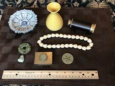 Lots Of Collectable Items, Porcelain、Jade、Brass、Necklace