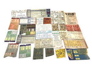 Concert, Circus, Broadway Ticket Stub Lot of 25+ (1970s-2000s) Crosby Stills