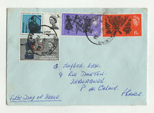 FDC England Angleterre enveloppe timbre 1er jour 1965 / B5fdc10