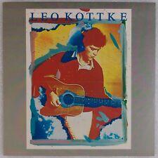 LEO KOTTKE: Self Titled '76 Chrysalis Green Label Orig Folk Rock Vinyl LP