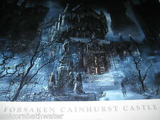 Bloodborne Forsaken Cainhurst Castle Limited Edition Lithograph #276 Dark Souls