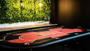 Texas Hold'em Poker Table - Red