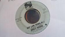 Curly Moore 45 Get Low Down Pts 1/2 Sansu 457 Rare Northern Soul Funk NOLA