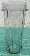 16 oz Ninja Single Serve Travel Cup Gray Plastic For 1200 Or 1500 Watt Machines
