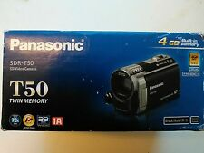Panasonic SDR-T50 4 GB Camcorder