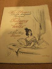 "SOUVENIR BOOK ""TRELAWNY OF THE WELLS ""1925"" KNICKERBOCKER THEATRE NY"