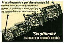 Publicité ancienne appareil photo Voigtländer No 6 1942 issue de magazine