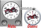 Reloj de pared con motivo de : BOSS HOSS Motocicleta Biker Motocicletas Motivo