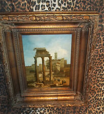 """Ionic Ruins Museum Quality """"Masters Style"""" Reproduction Oil Painting"""