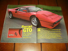 1984 FERRARI GTO ***ORIGINAL ARTICLE***
